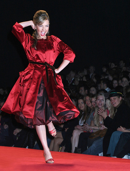 Heart Truth-The Red Dress Fashion Show - Thalia